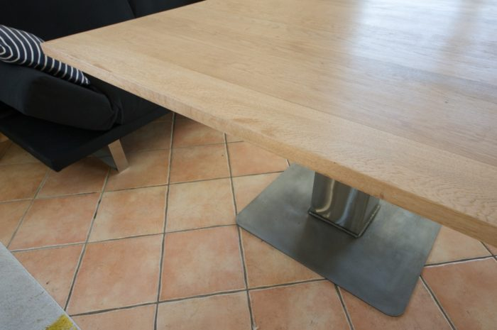 table a manger industrielle