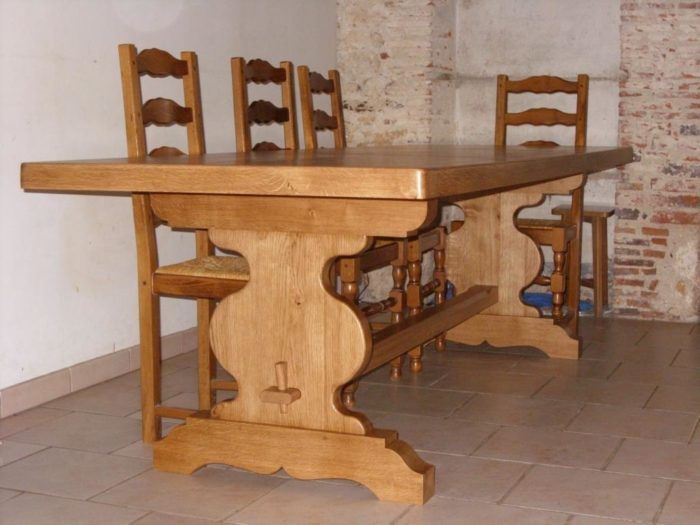 table avec ralonge