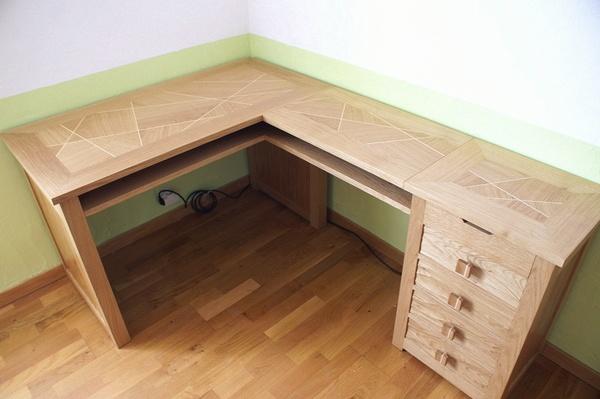 table d angle pour cuisine