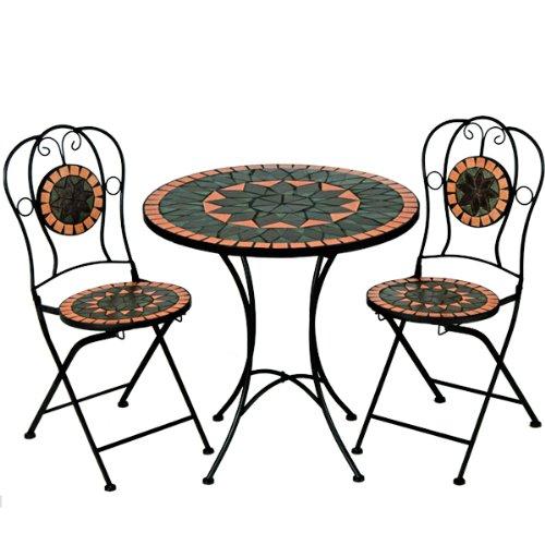 table de jardin design aluminium