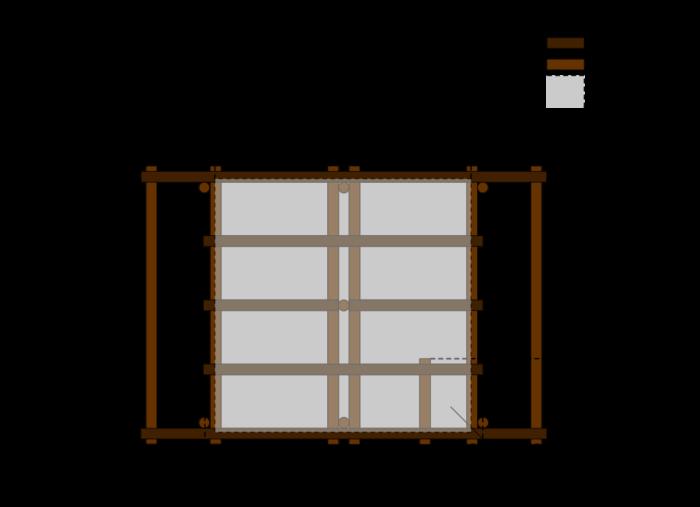 table suspendue balcon