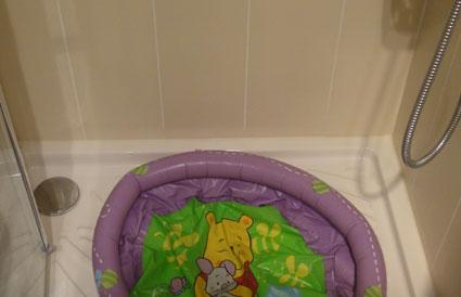 baignoire plastique bebe