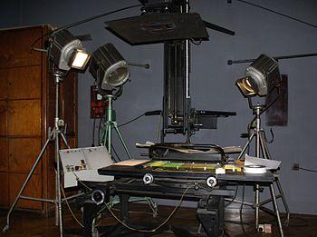 caméra film professionnel