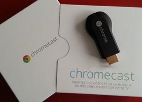 chromecast prix