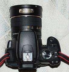 hybride canon eos m