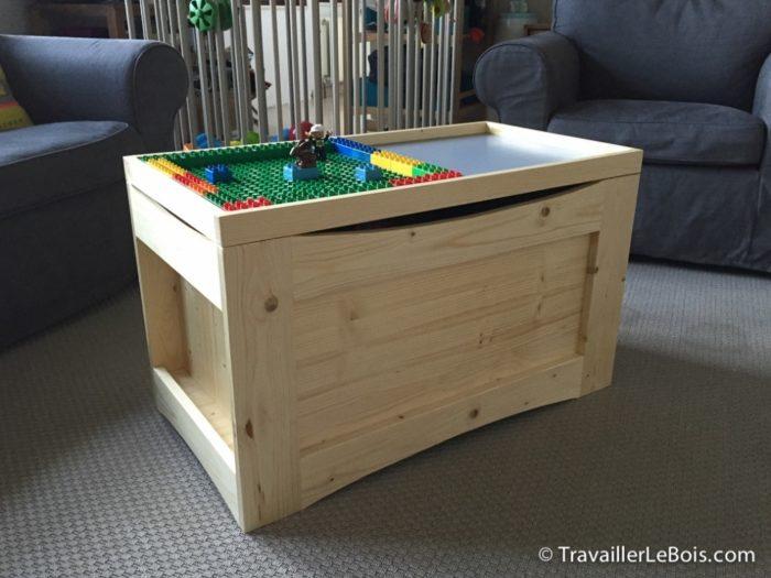 table basse coffre de jardin