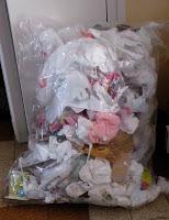 poubelle salle de bain plastique