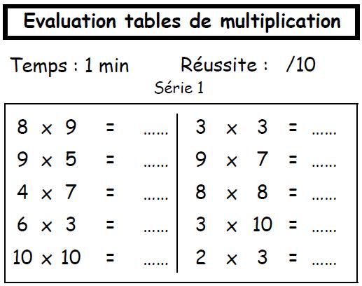 tables de multiplication jeux gratuits