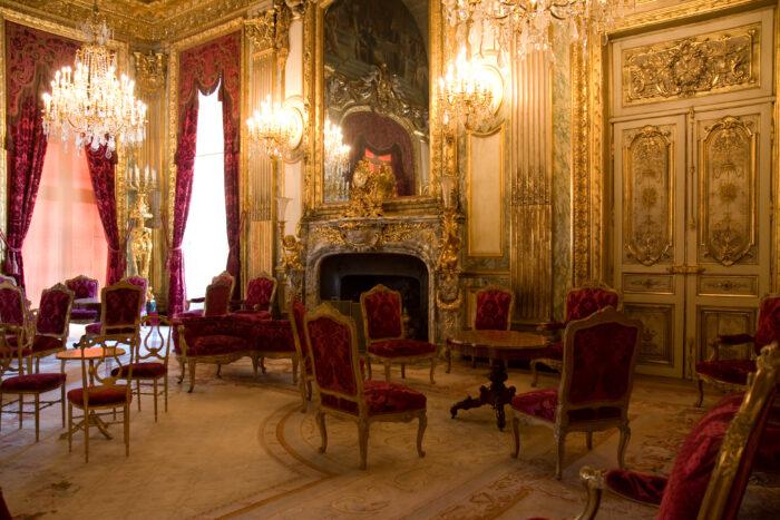 fauteuil baroque ancien