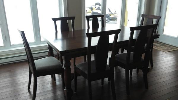 table italienne avec rallonge